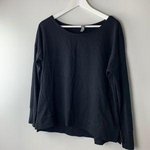 Sweaty Betty Sweatshirt Black Size Extra Small